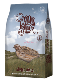 Wild Side Nomad Wings s křepelkou 3kg