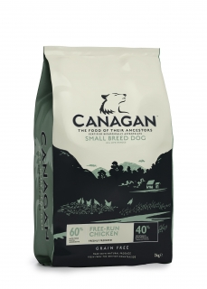 Canagan Free-Run Chicken for Small Breeds 6 kg
