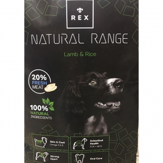 Rex Natural Range Adult Lamb & Rice 14kg