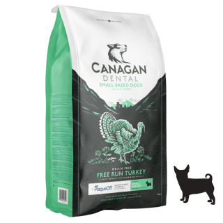 Canagan Small Breed Free Run Turkey Dental 6 kg